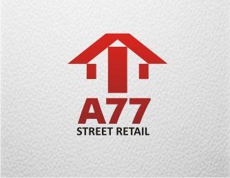 Лого для сайта по коммерческой недвижимости A77.RU - дизайнер F-maker