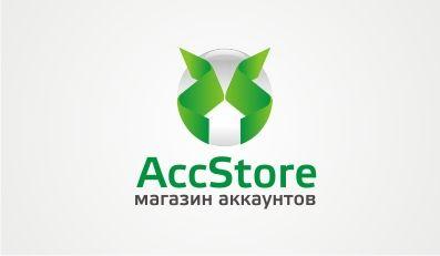Логотип для магазина аккаунтов - дизайнер F-maker