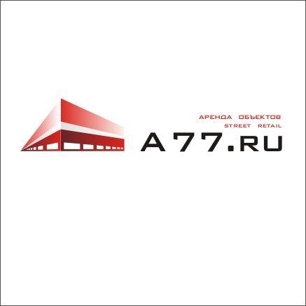 Лого для сайта по коммерческой недвижимости A77.RU - дизайнер madamdesign