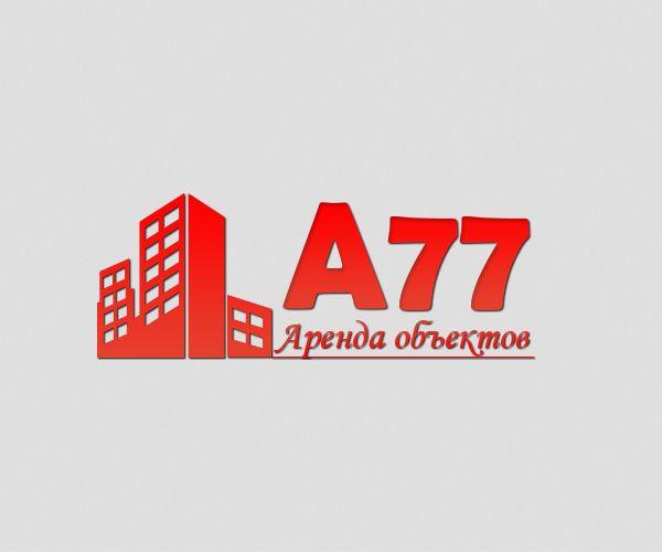 Лого для сайта по коммерческой недвижимости A77.RU - дизайнер relax1994