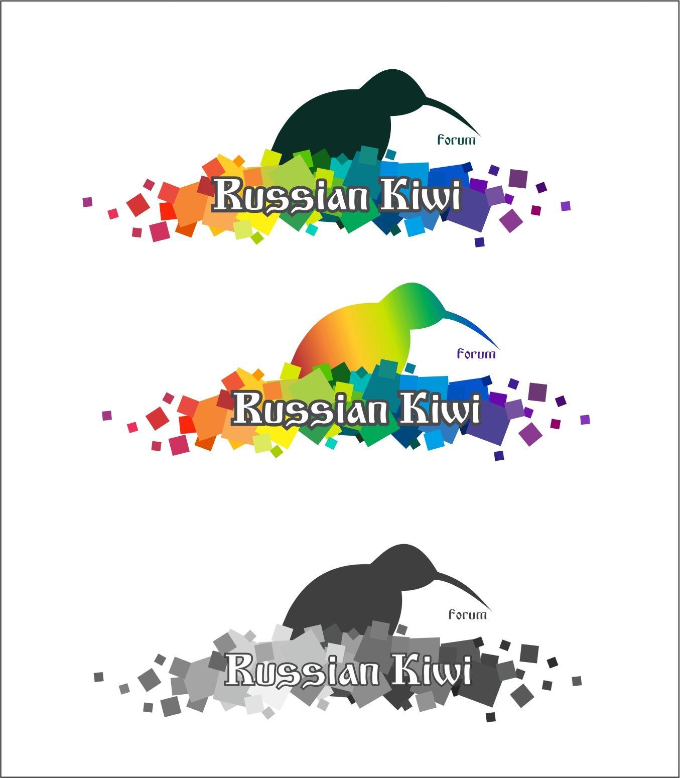 Логотип форума русских эмигрантов в Новой Зеландии - дизайнер 79156510795