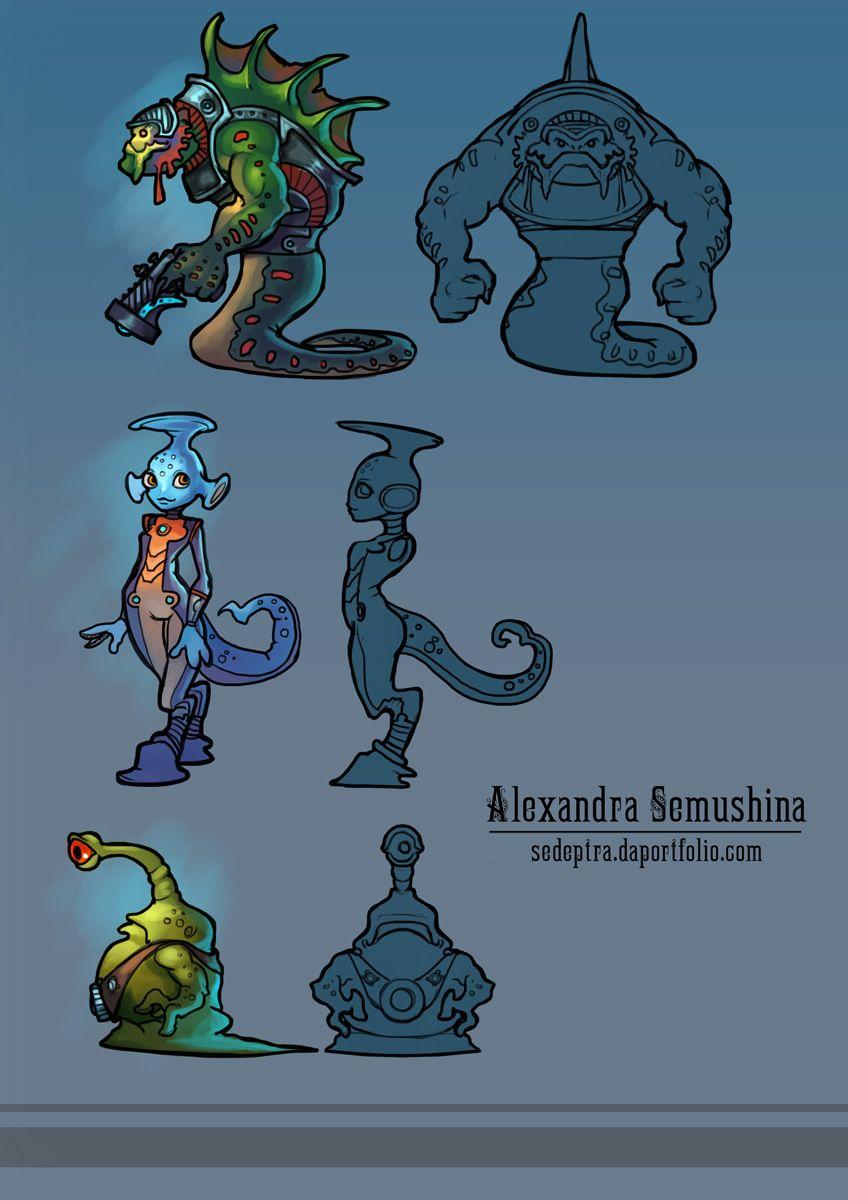 Нужен скетч персонажа для игры - дизайнер Sandlady