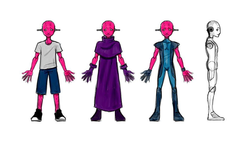 Нужен скетч персонажа для игры - дизайнер NickLight