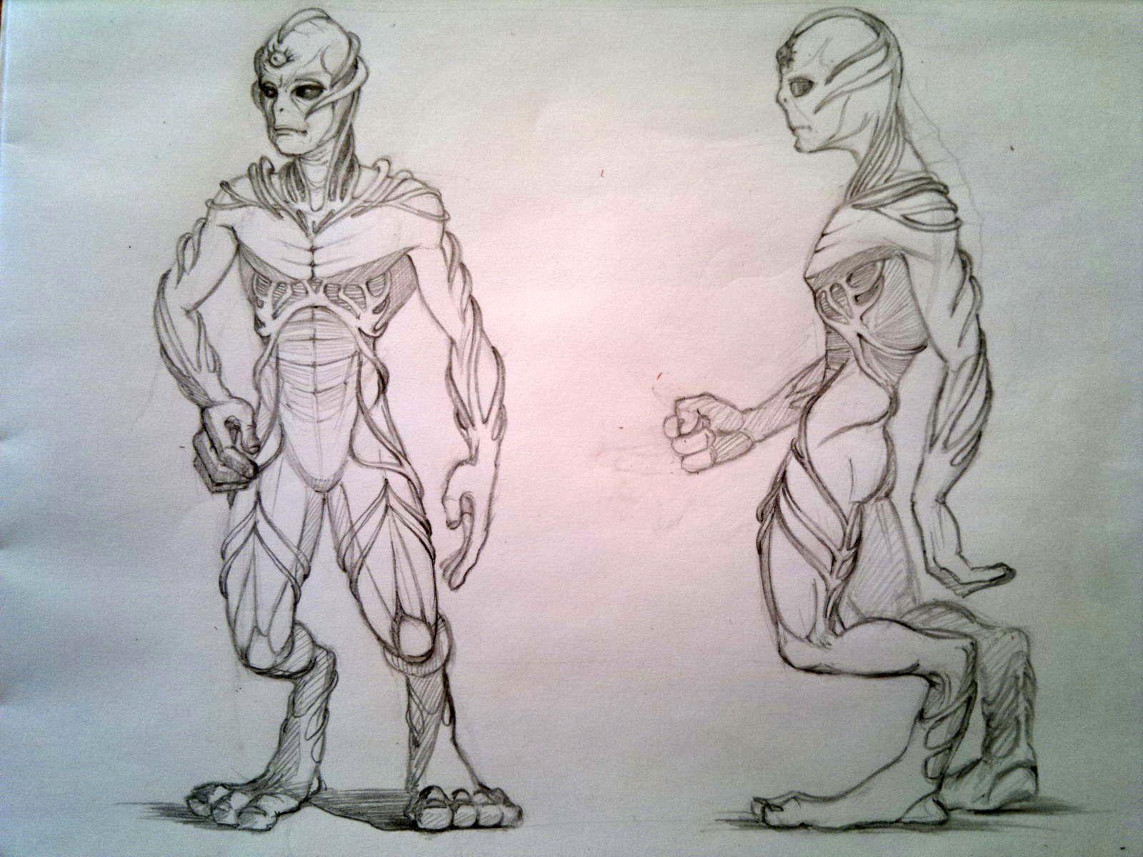Нужен скетч персонажа для игры - дизайнер wildweb2061526