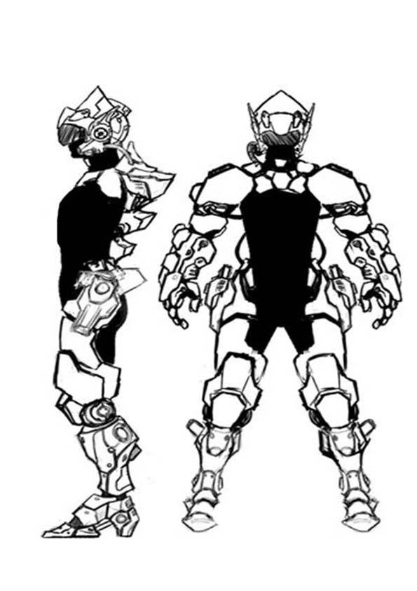 Нужен скетч персонажа для игры - дизайнер lislislis3D