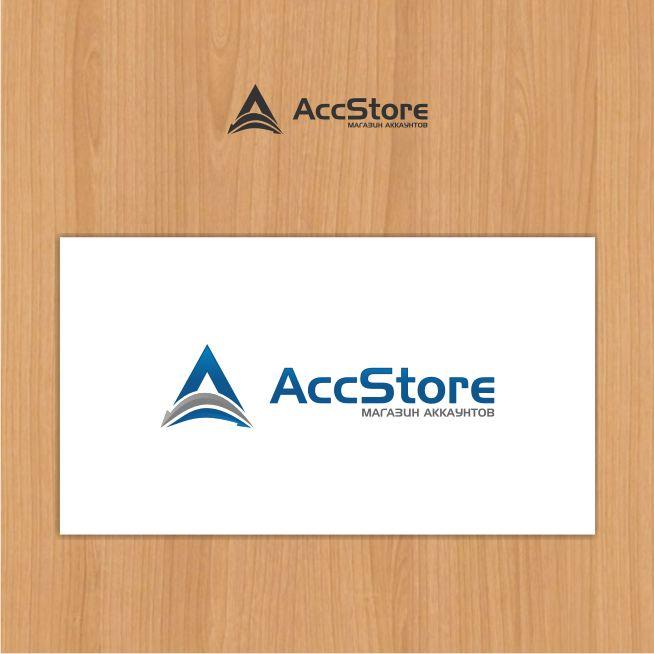 Логотип для магазина аккаунтов - дизайнер Crystal10