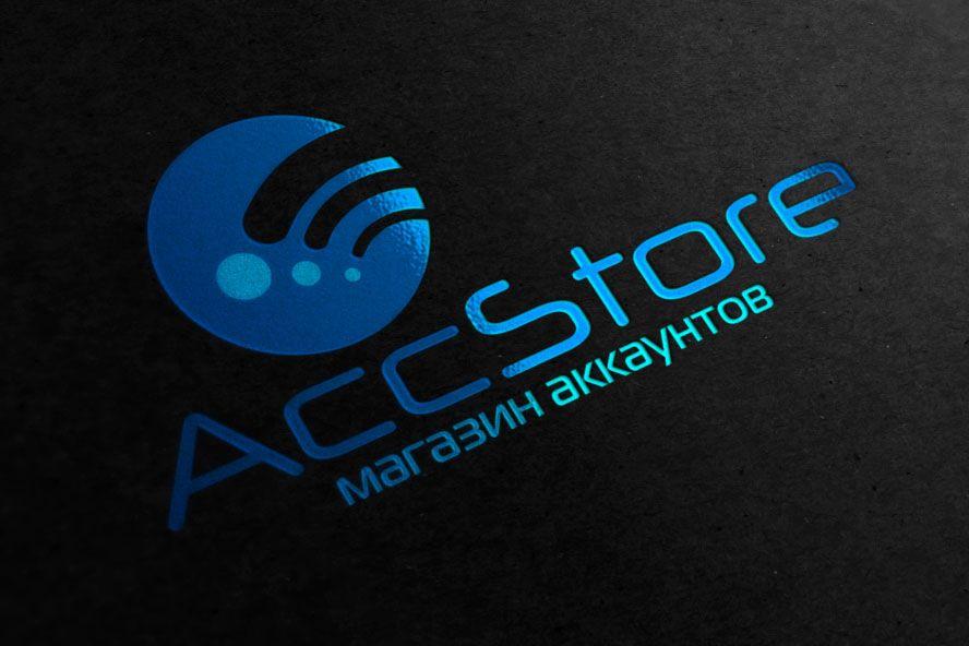 Логотип для магазина аккаунтов - дизайнер zhutol