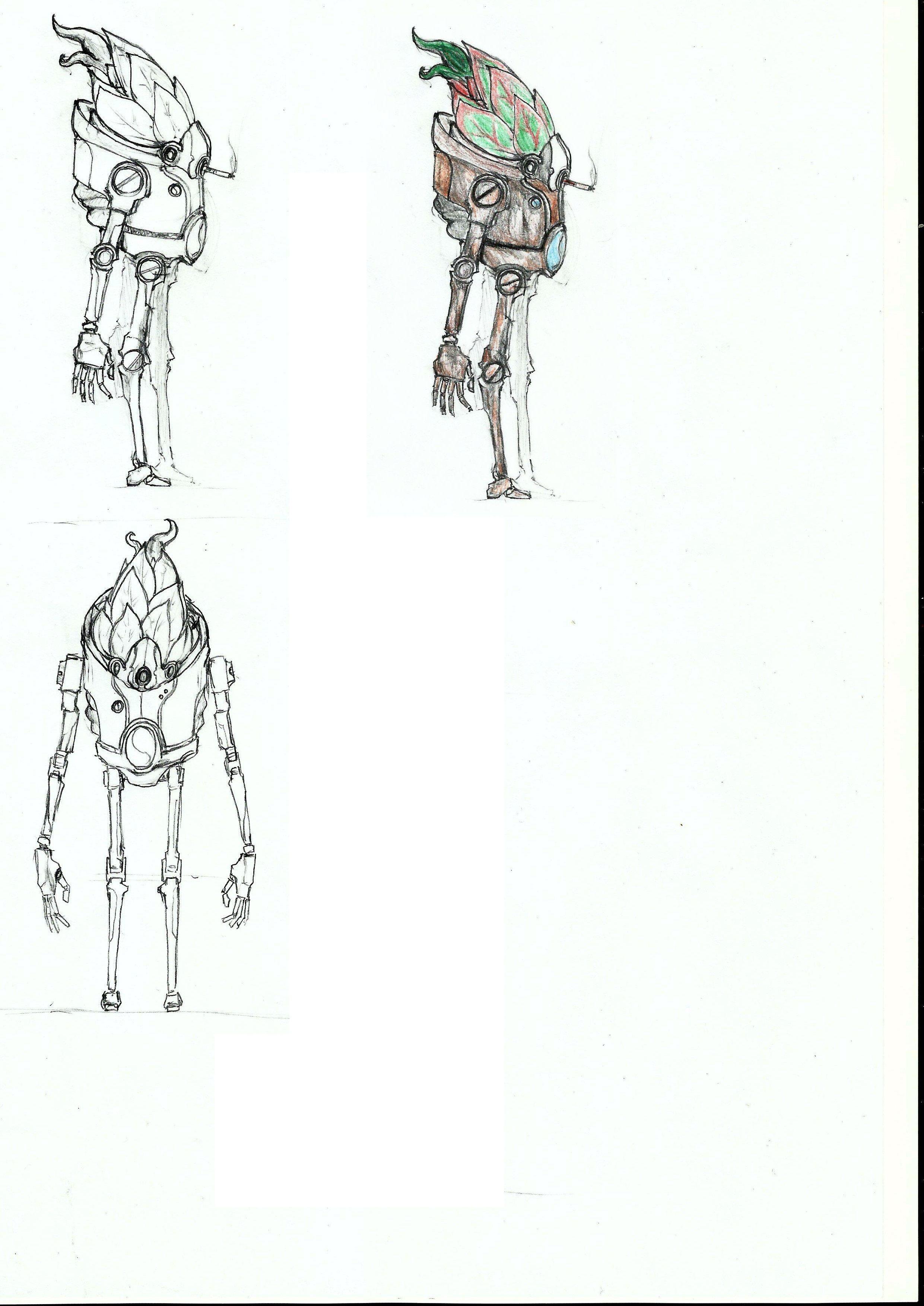 Нужен скетч персонажа для игры - дизайнер NorthFier