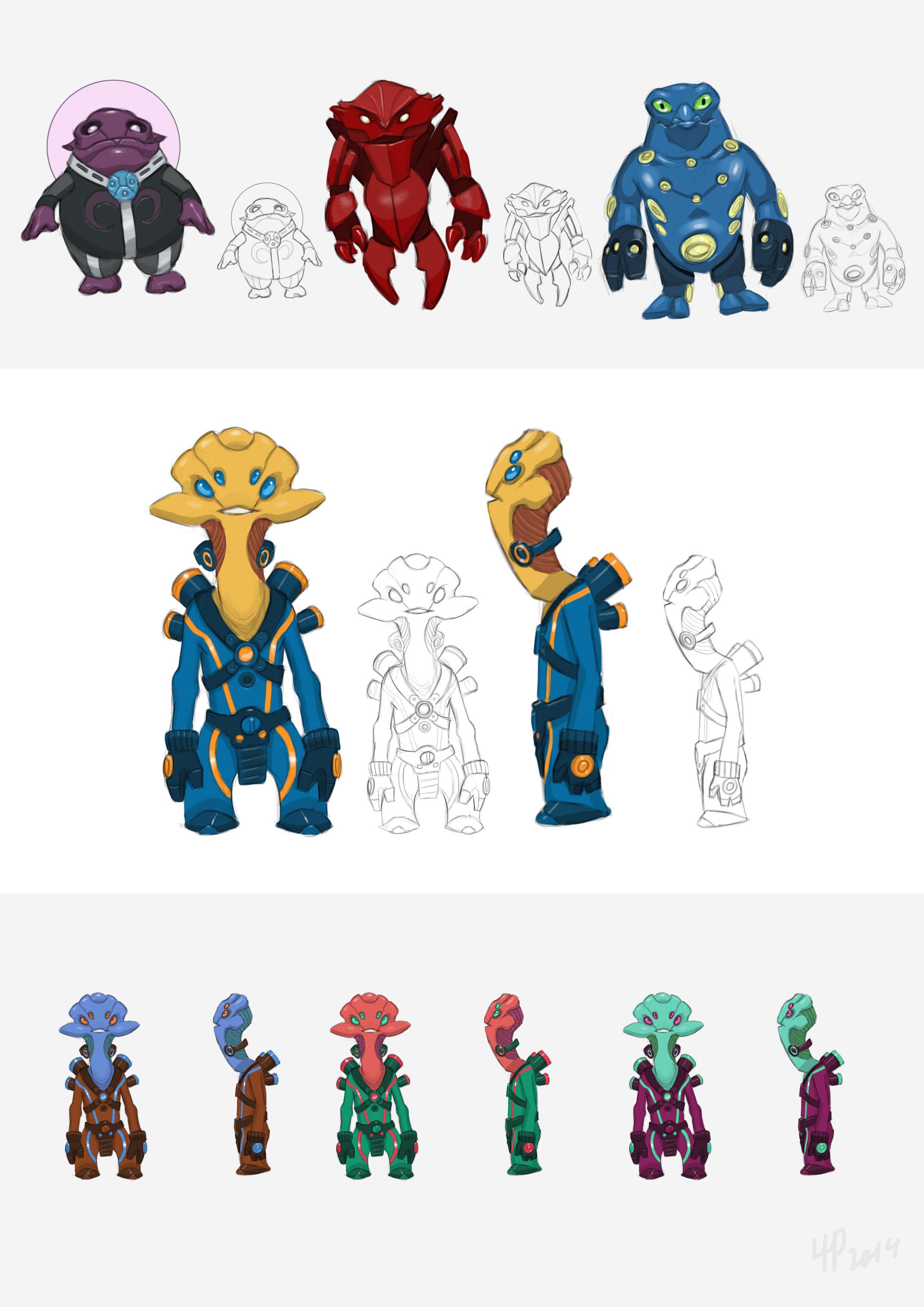Нужен скетч персонажа для игры - дизайнер kalian999999