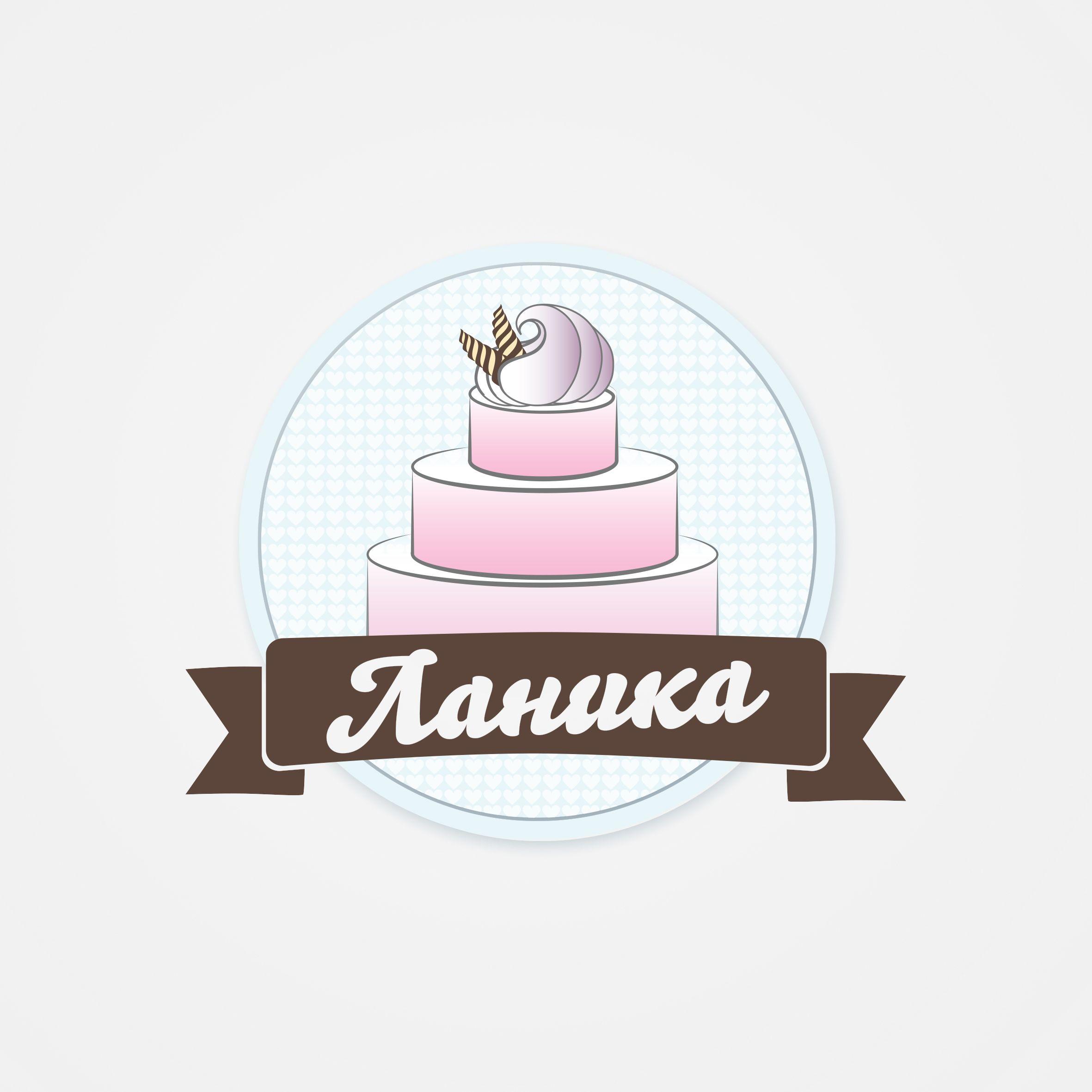 Лого ИМ тортов,пирожных и печенья ручной работы - дизайнер Shiitake
