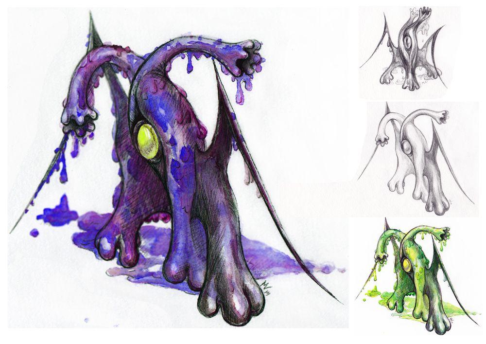 Нужен скетч персонажа для игры - дизайнер VeronikaMagic