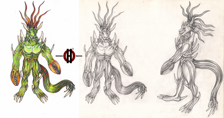 Нужен скетч персонажа для игры - дизайнер Hombre_Humor