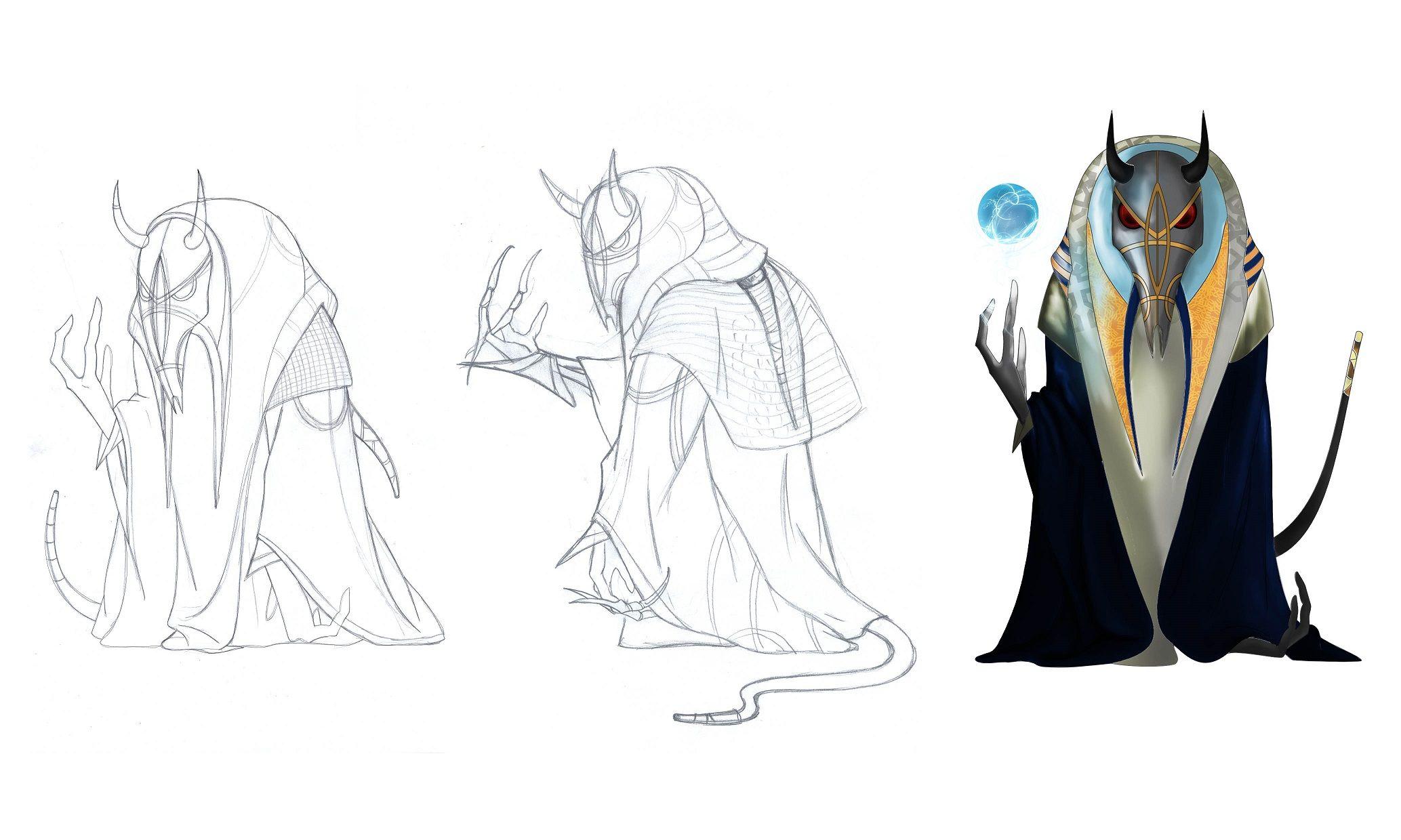 Нужен скетч персонажа для игры - дизайнер La_persona