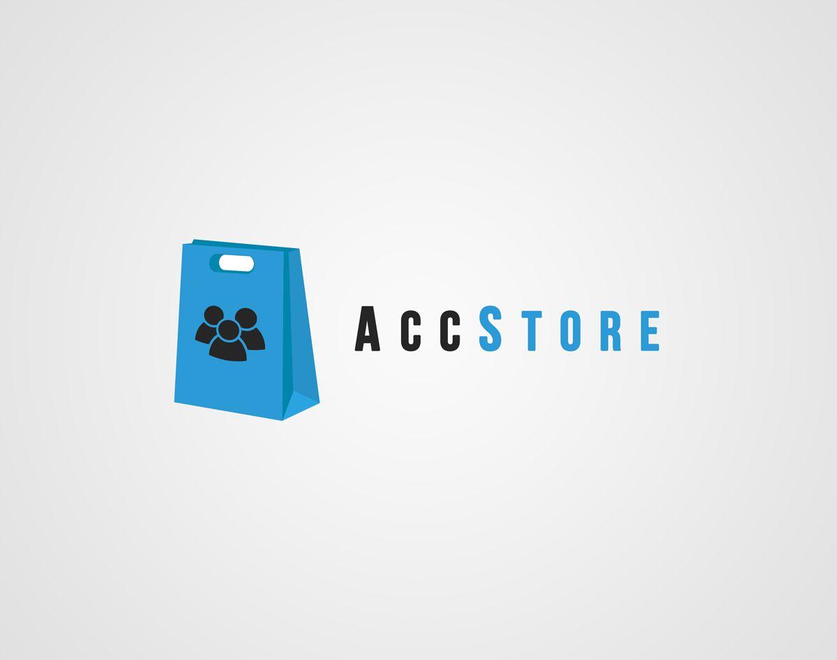 Логотип для магазина аккаунтов - дизайнер Luetz