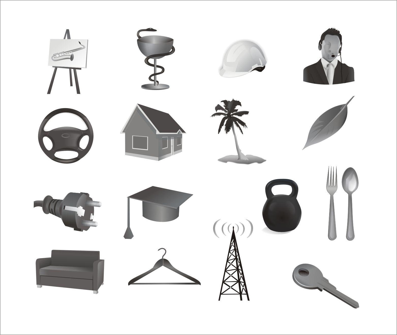 Иконки\кнопки для городского портала - дизайнер Merishka