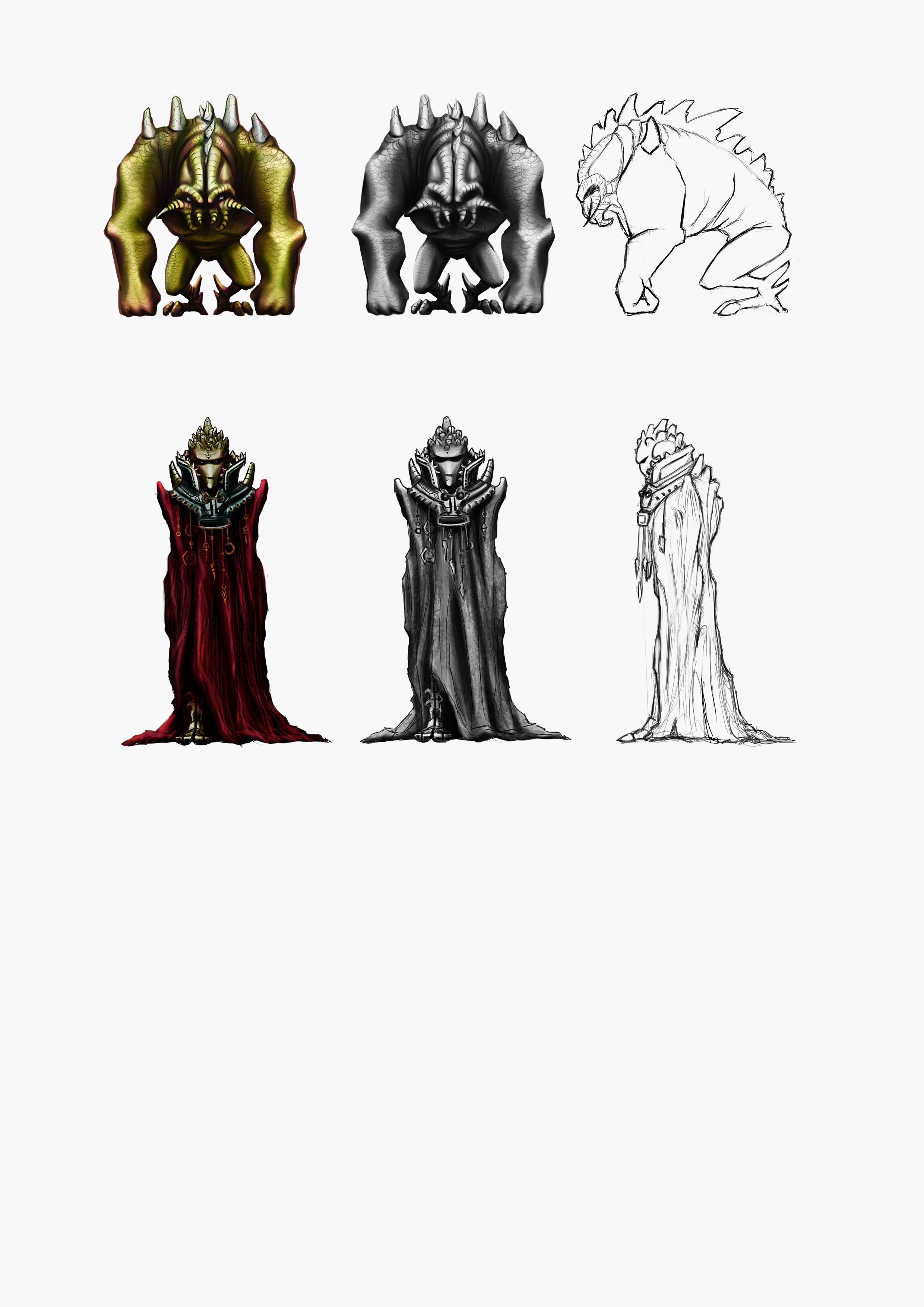 Нужен скетч персонажа для игры - дизайнер qwerty_1