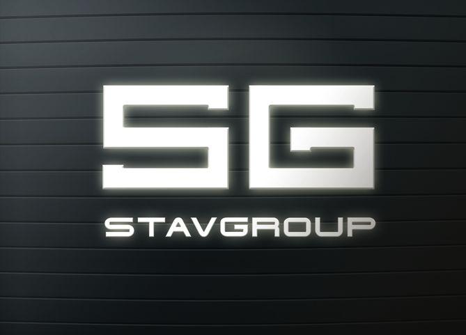 Лого и фирменный стиль для STAVGROUP - дизайнер art-valeri