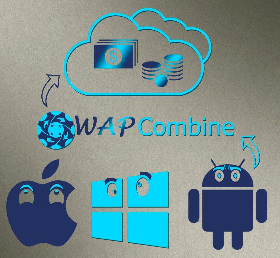 Логотип для мобильной партнерской программы - дизайнер ReWire93