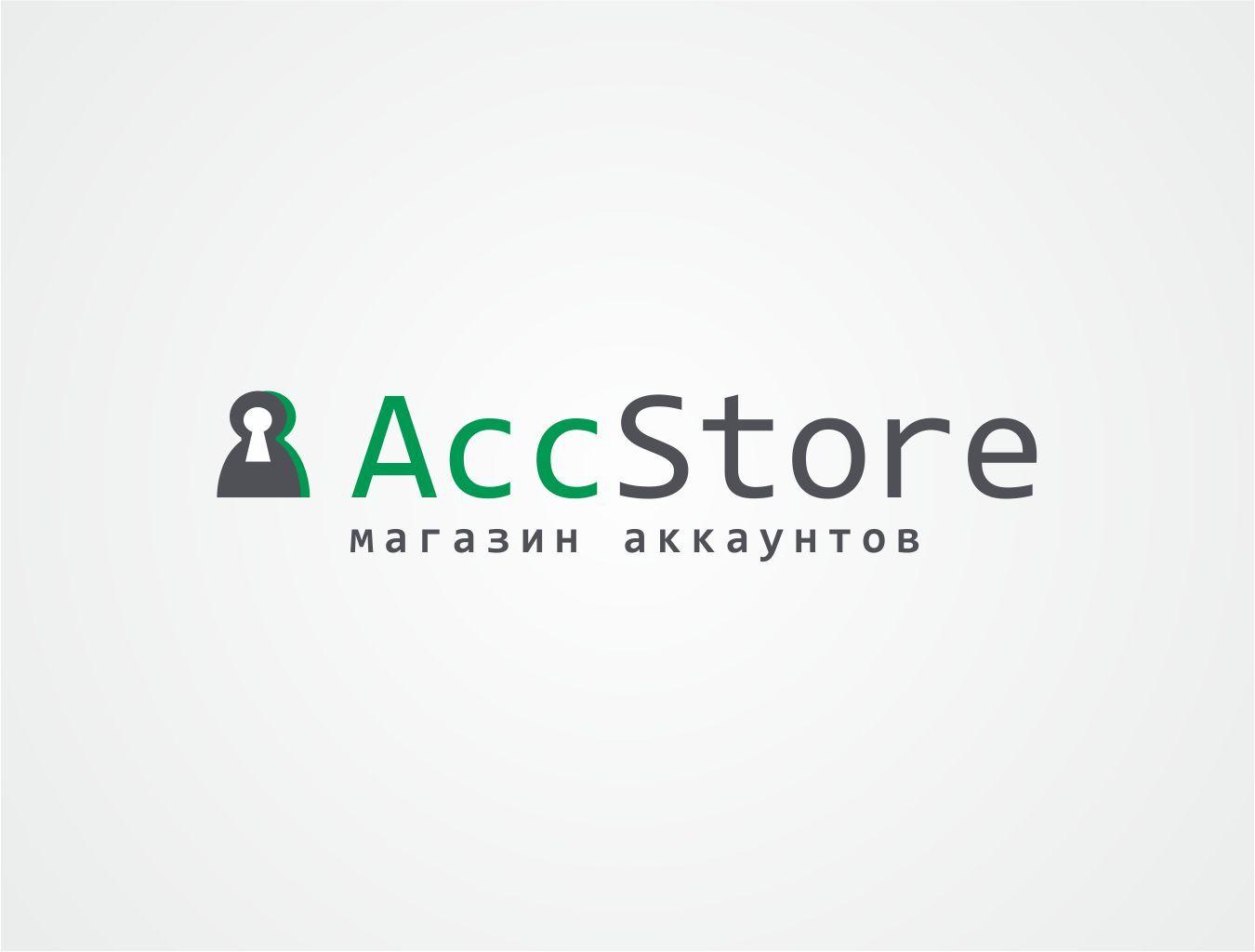 Логотип для магазина аккаунтов - дизайнер ollly