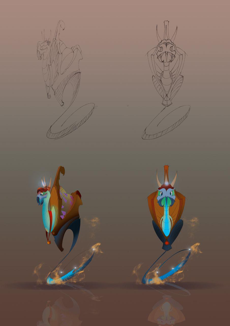 Нужен скетч персонажа для игры - дизайнер Djuc