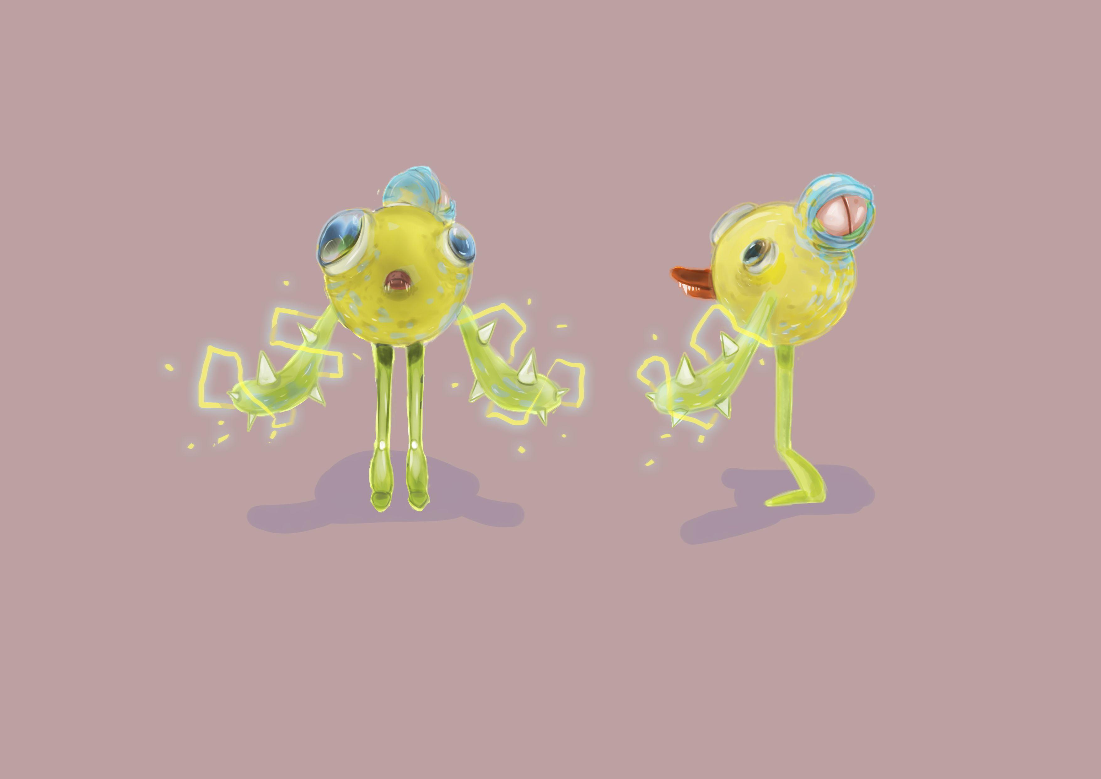 Нужен скетч персонажа для игры - дизайнер alyahoney