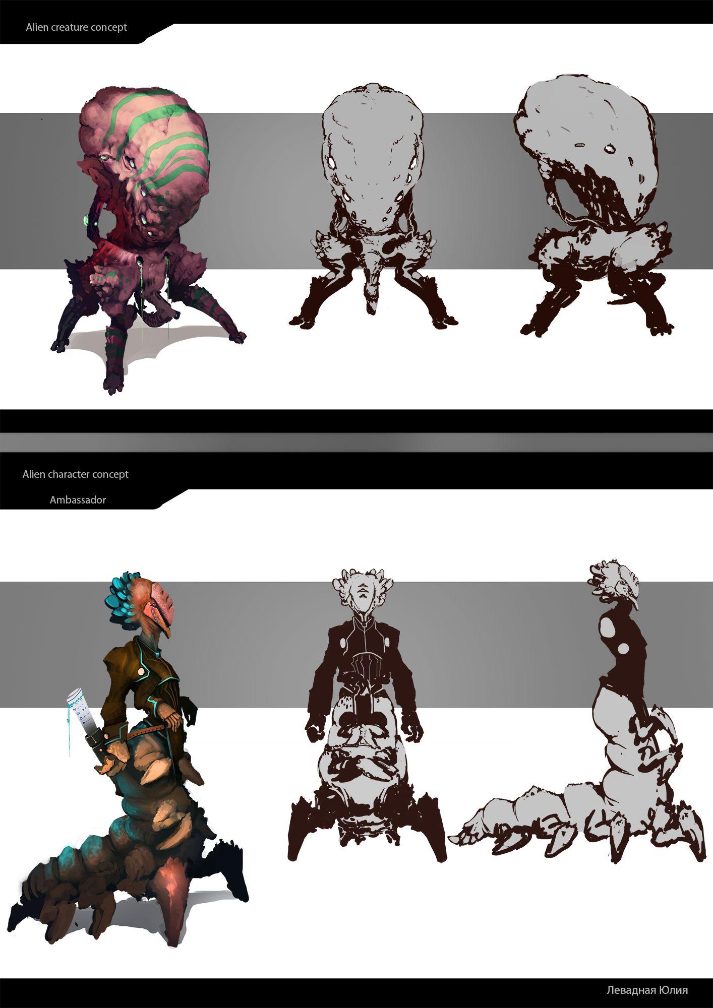 Нужен скетч персонажа для игры - дизайнер MrYulcha