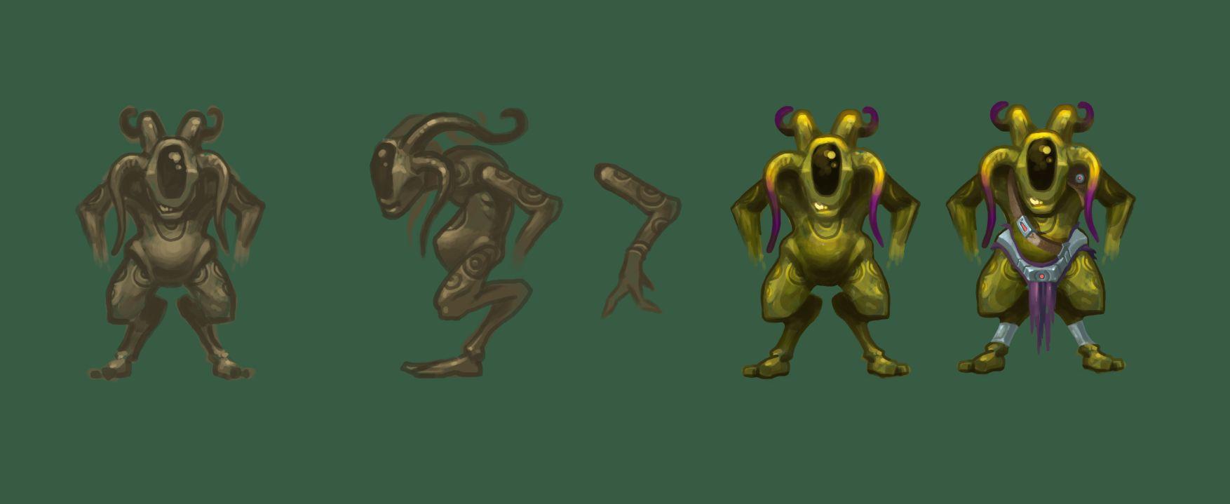 Нужен скетч персонажа для игры - дизайнер Donio