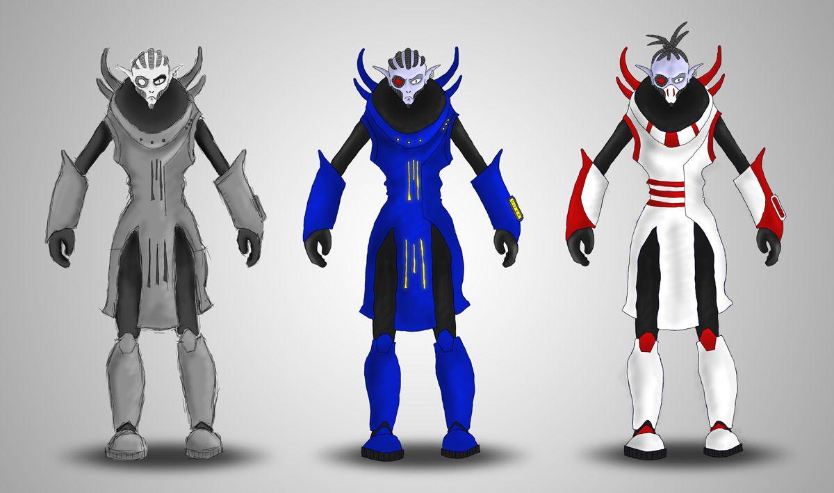 Нужен скетч персонажа для игры - дизайнер karma666koma