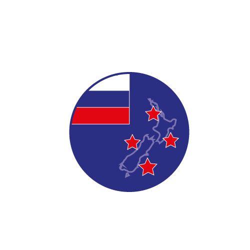 Логотип форума русских эмигрантов в Новой Зеландии - дизайнер Gru3uH