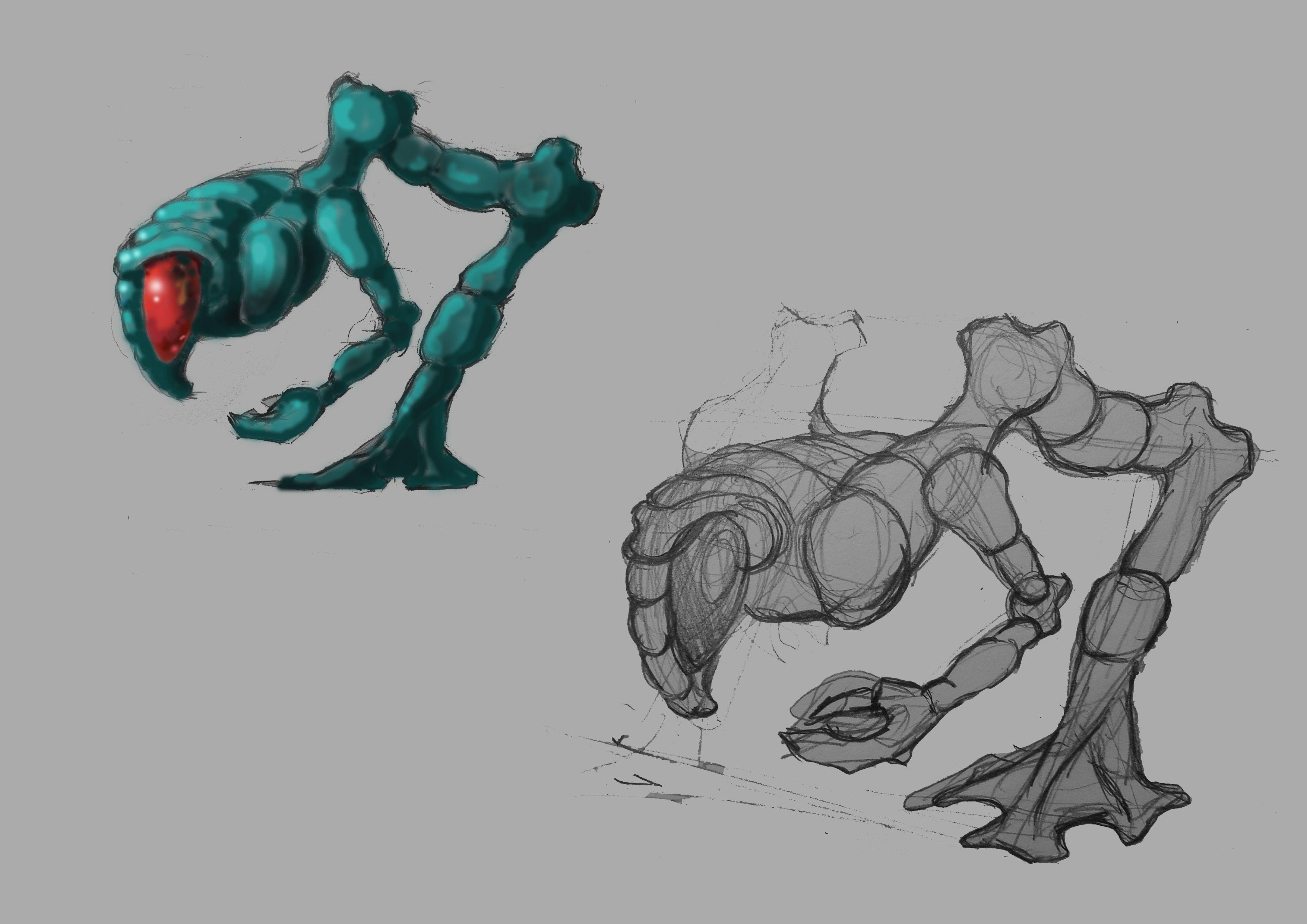 Нужен скетч персонажа для игры - дизайнер Gloryveid