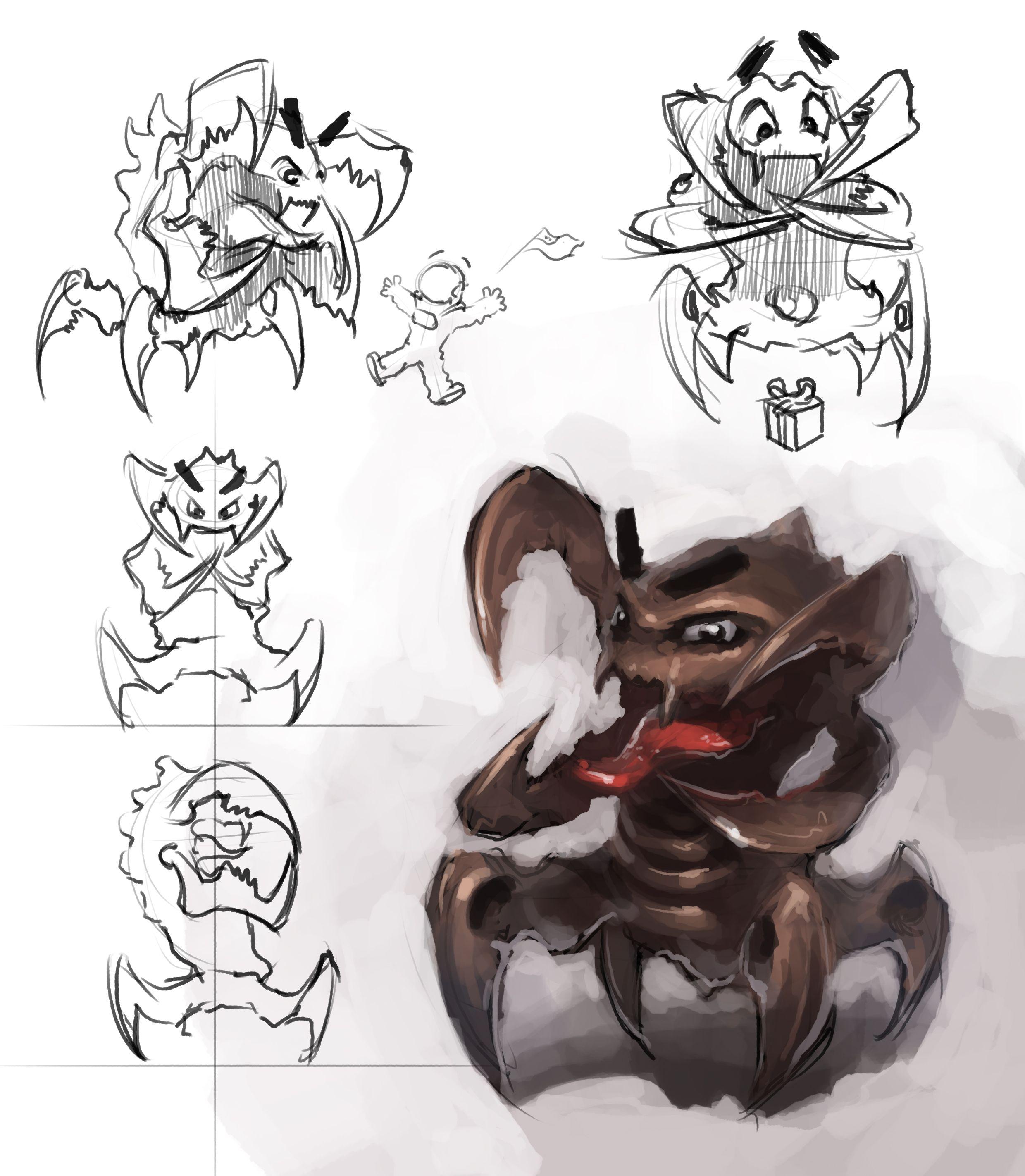 Нужен скетч персонажа для игры - дизайнер Peredvignik