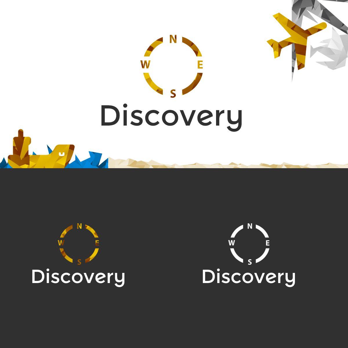 Логотип и фирм стиль для турагентства Discovery - дизайнер Muskin