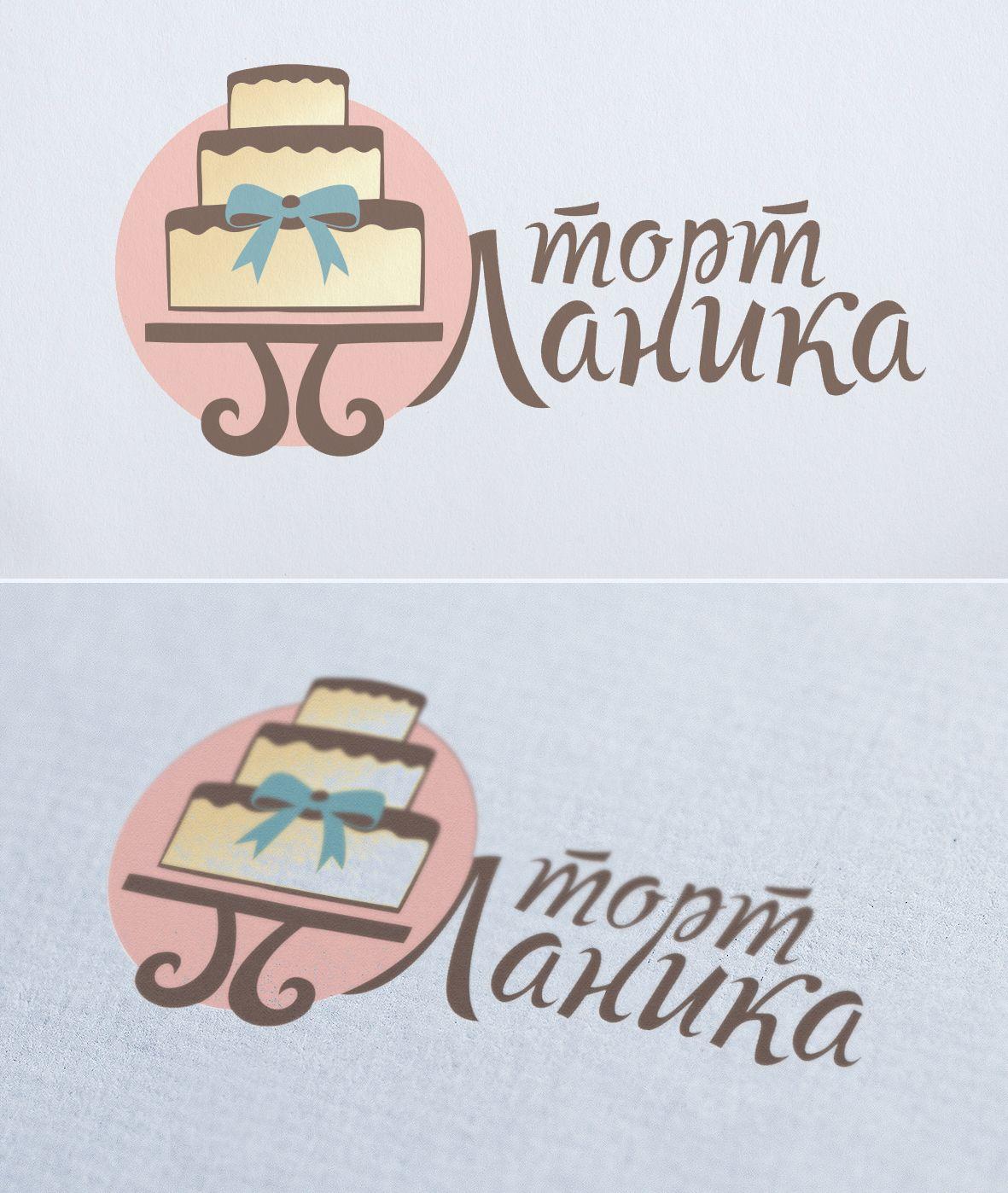 Лого ИМ тортов,пирожных и печенья ручной работы - дизайнер LisaTaiga
