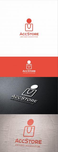 Логотип для магазина аккаунтов - дизайнер Richardik