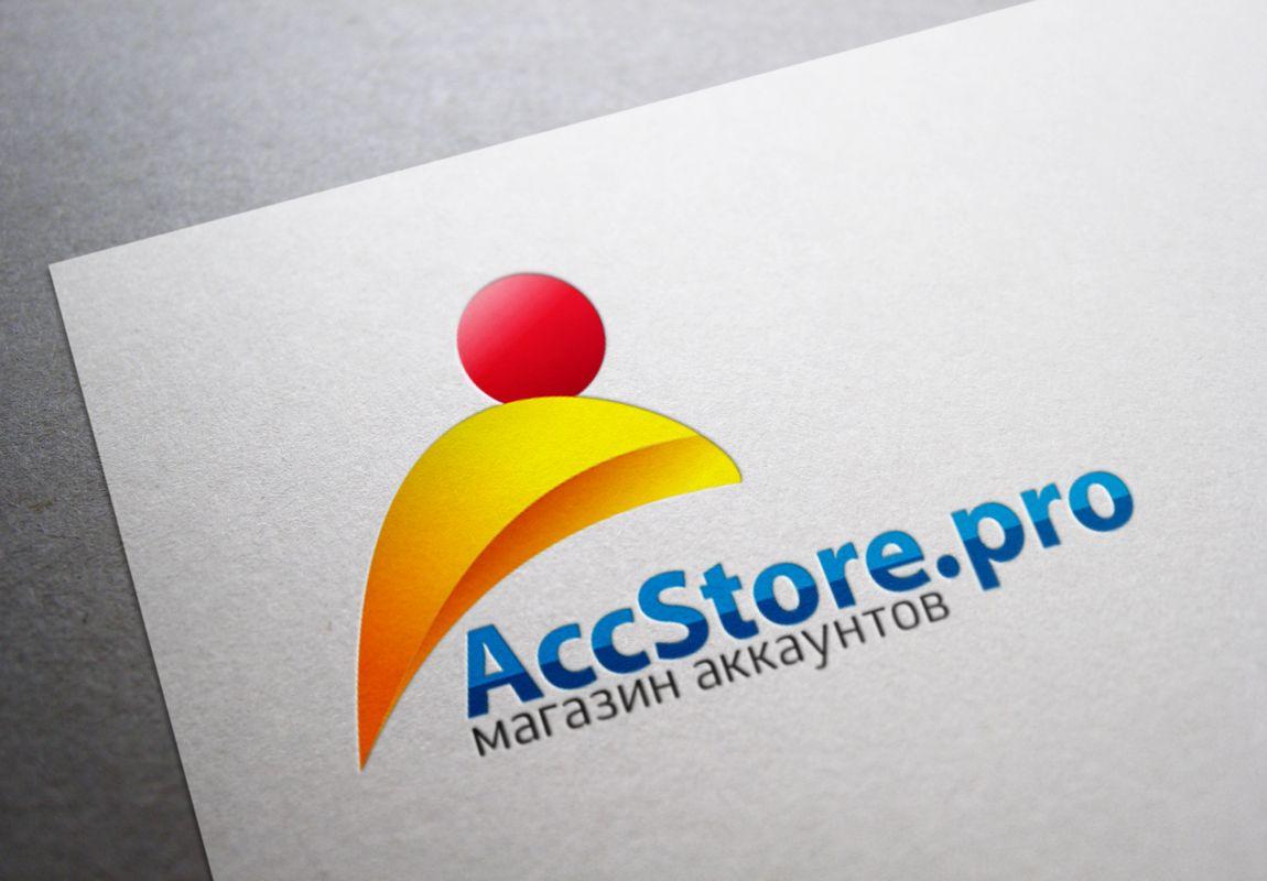 Логотип для магазина аккаунтов - дизайнер lestar65