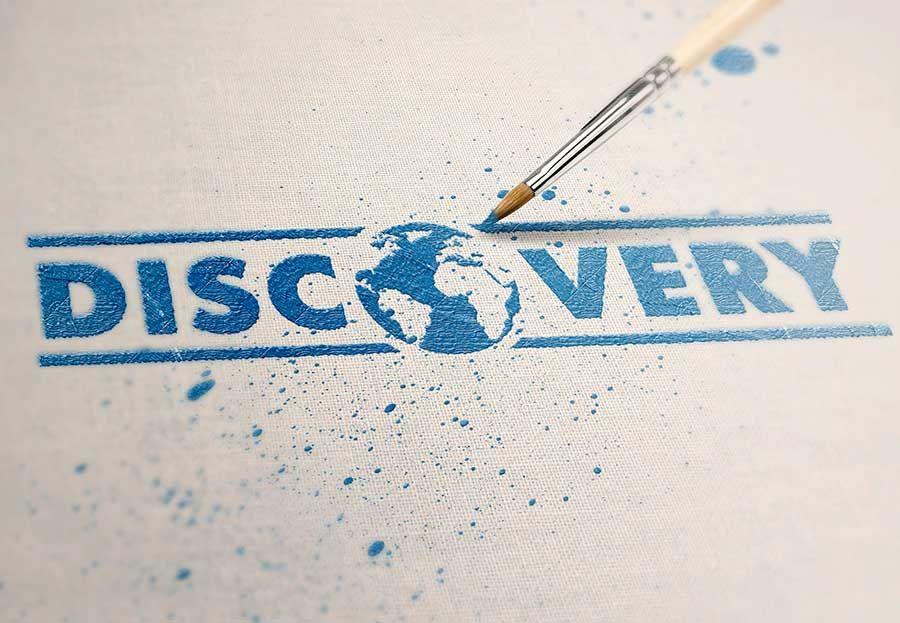 Логотип и фирм стиль для турагентства Discovery - дизайнер path