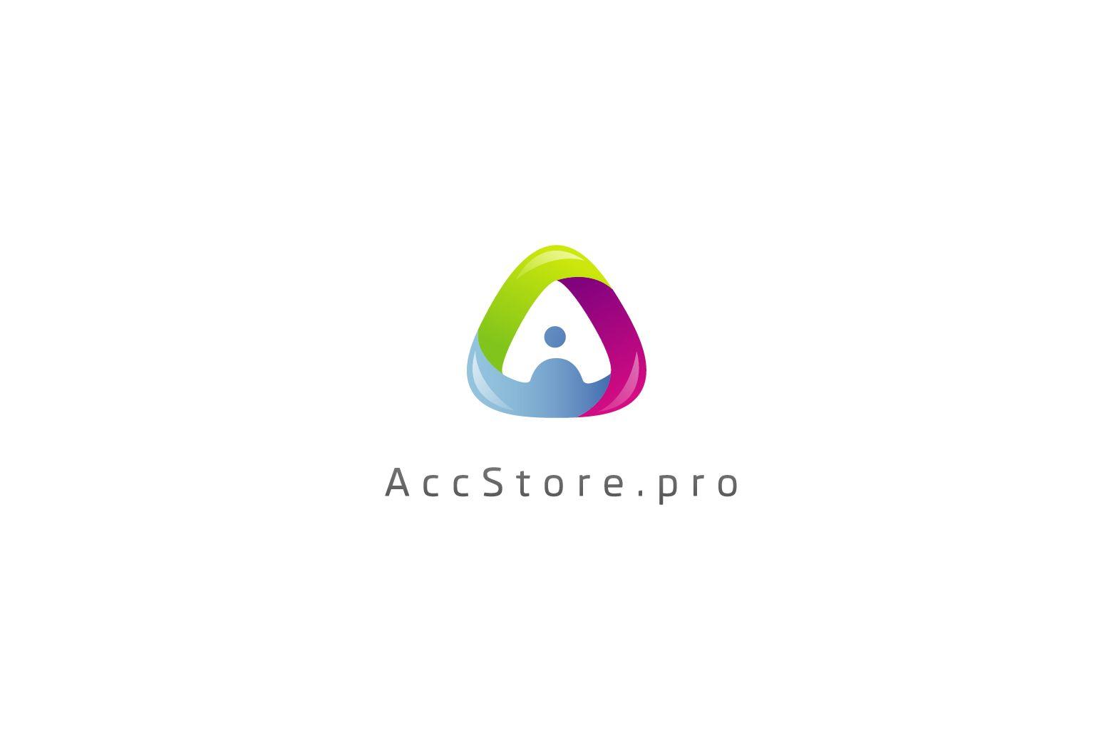 Логотип для магазина аккаунтов - дизайнер zet333