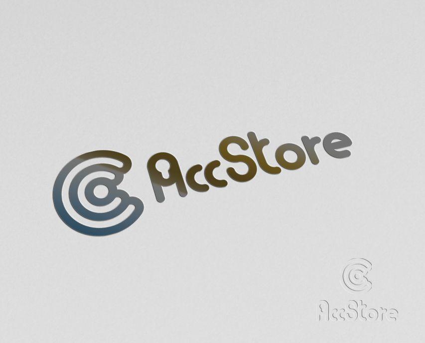 Логотип для магазина аккаунтов - дизайнер smithy-style