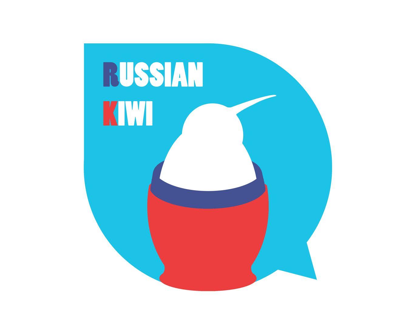 Логотип форума русских эмигрантов в Новой Зеландии - дизайнер TwinSpleen