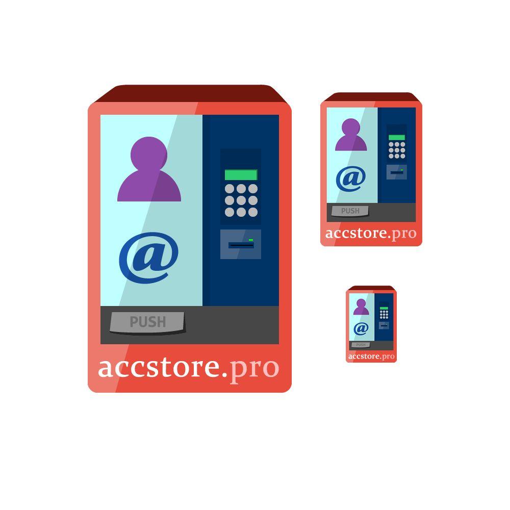Логотип для магазина аккаунтов - дизайнер SchizoInside