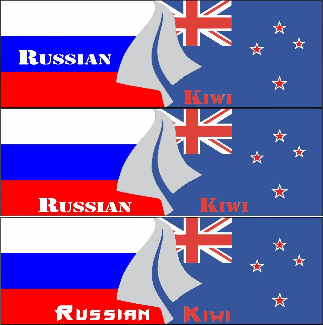 Логотип форума русских эмигрантов в Новой Зеландии - дизайнер abricos29