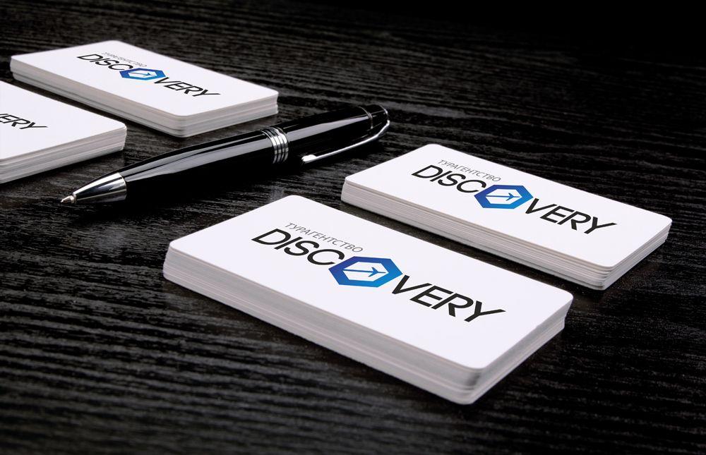 Логотип и фирм стиль для турагентства Discovery - дизайнер dossbos