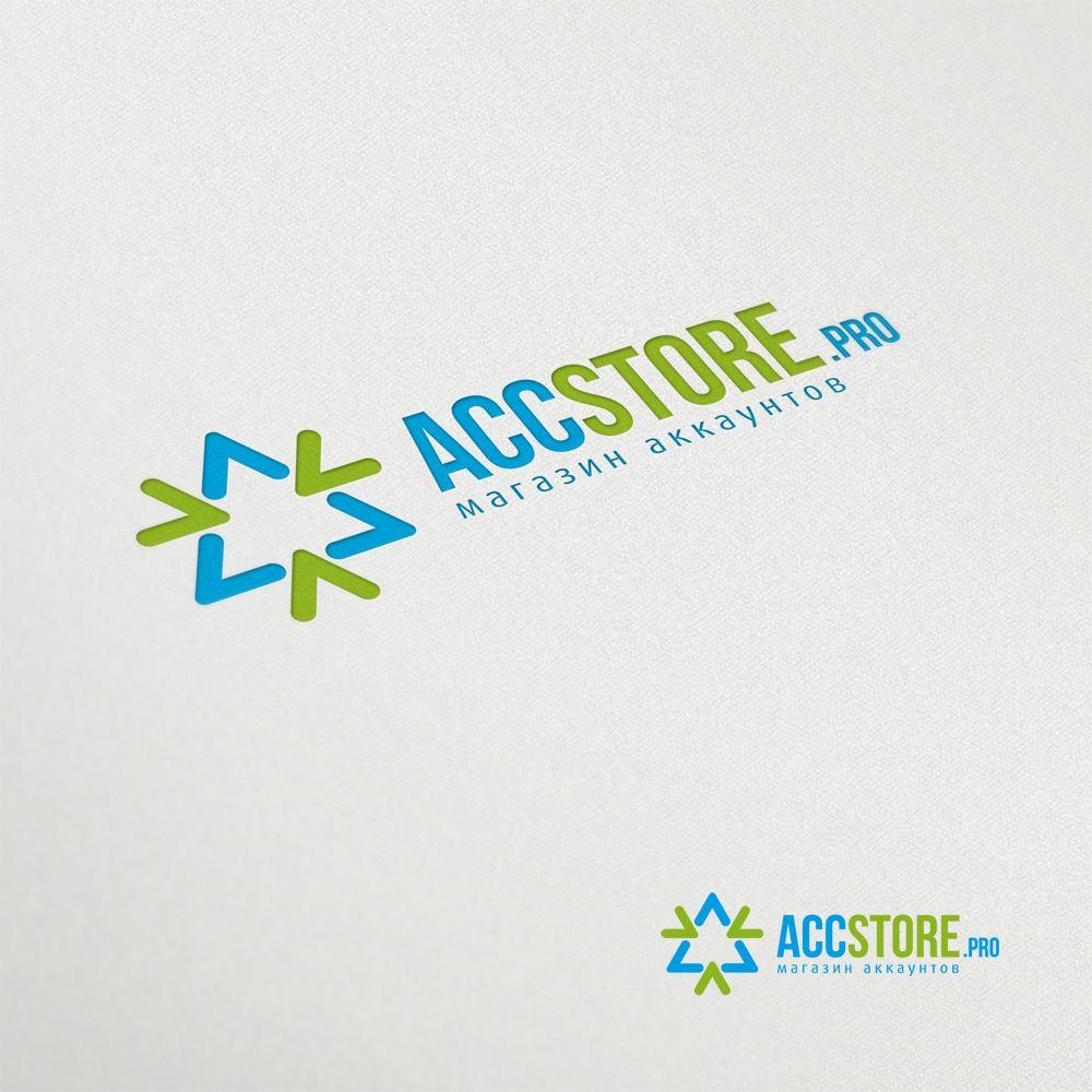 Логотип для магазина аккаунтов - дизайнер mz777