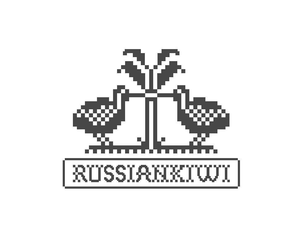 Логотип форума русских эмигрантов в Новой Зеландии - дизайнер SendereS