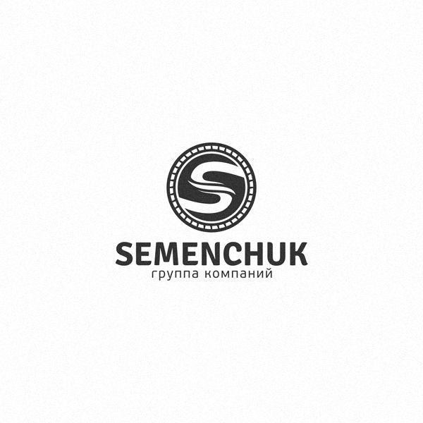 Логотип группы компаний SEMENCHUK - дизайнер titovichbit