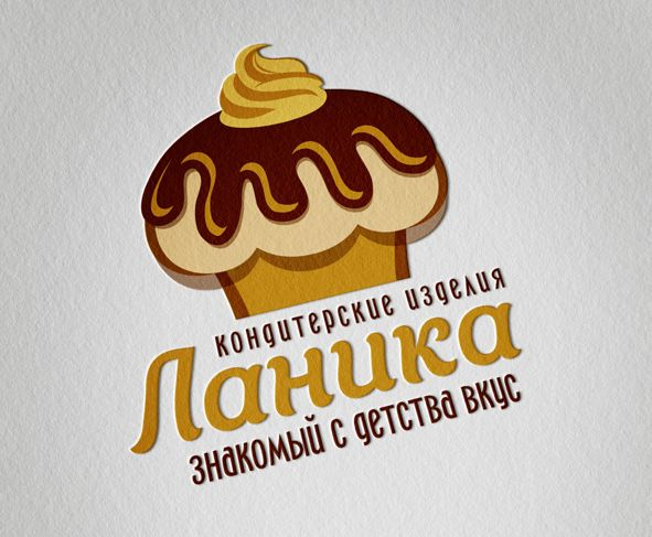 Лого ИМ тортов,пирожных и печенья ручной работы - дизайнер Kriana