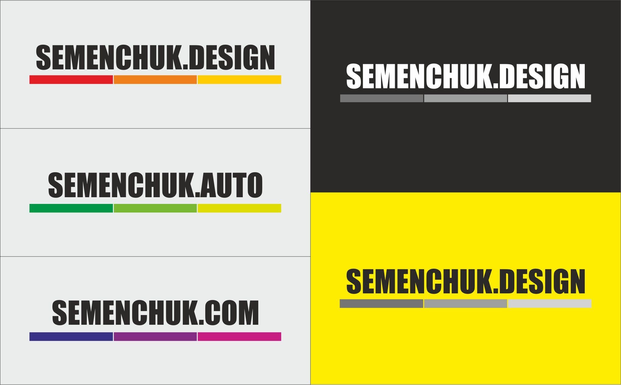 Логотип группы компаний SEMENCHUK - дизайнер Gangster8723