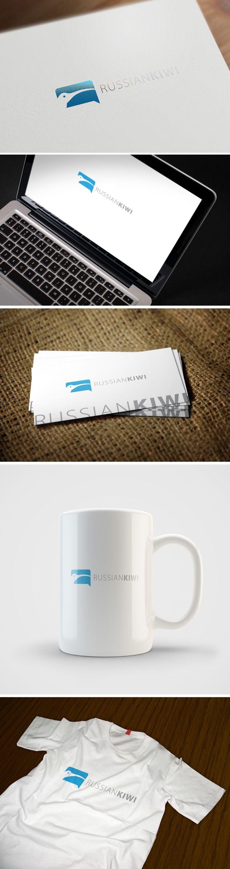 Логотип форума русских эмигрантов в Новой Зеландии - дизайнер GreenRed