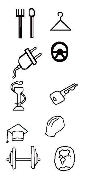 Иконки\кнопки для городского портала - дизайнер BlackMamba