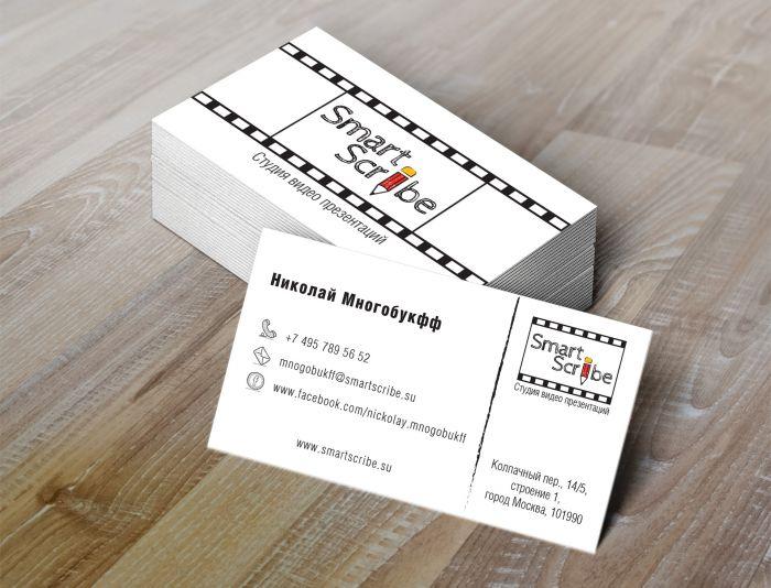 Лого, визитка и шаблон презентации для SmartScribe - дизайнер vook23